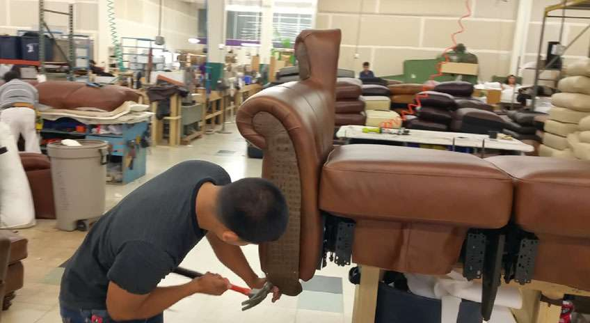 Leather Furniture Manufacturing upholsterer photo